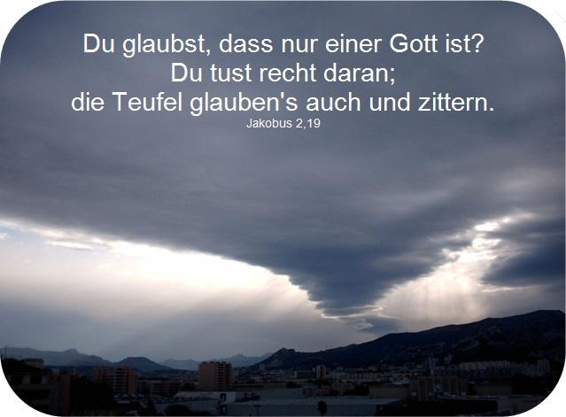 jakobus 2,19
